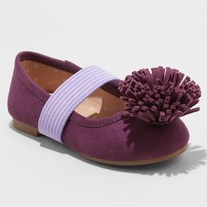 Baby Girls' Oma Ballets - Cat & Jack™ Purple